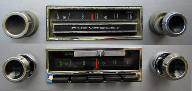 Antique Automobile Radio Modern Stereo For Vintage Carsrhradiosforoldcars: 1964 Chevy Truck Radio At Gmaili.net