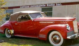 Antique Auto Radio is located here in Florida with dealers all over the United States and the world.